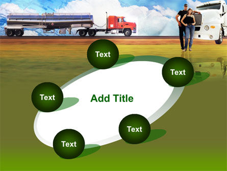 Truck Driving Job Free PowerPoint Template Slide 14
