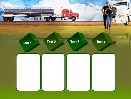 Truck Driving Job Free PowerPoint Template Slide 18