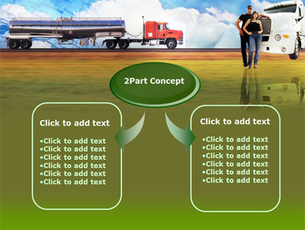 Truck Driving Job Free PowerPoint Template Slide 4