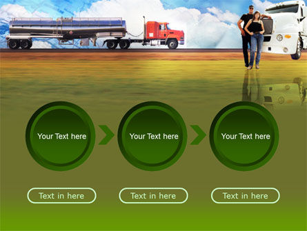 Truck Driving Job Free PowerPoint Template Slide 5