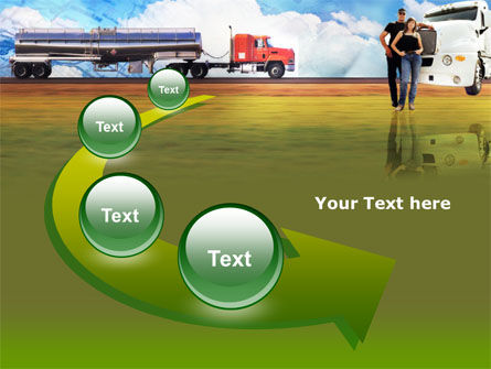 Truck Driving Job Free PowerPoint Template Slide 6