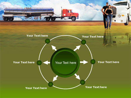 Truck Driving Job Free PowerPoint Template Slide 7