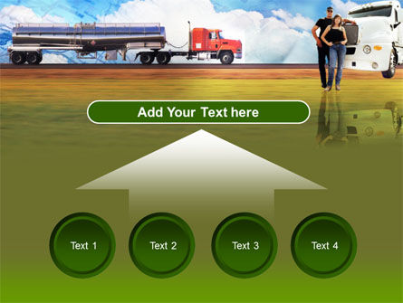 Truck Driving Job Free PowerPoint Template Slide 8