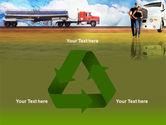 Truck Driving Job Free PowerPoint Template#10