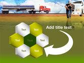 Truck Driving Job Free PowerPoint Template#11
