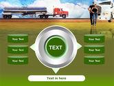 Truck Driving Job Free PowerPoint Template#12