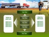 Truck Driving Job Free PowerPoint Template#13