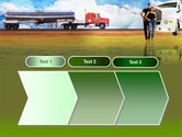 Truck Driving Job Free PowerPoint Template#16