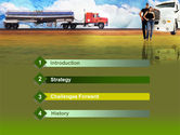 Truck Driving Job Free PowerPoint Template#3
