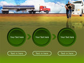 Truck Driving Job Free PowerPoint Template#5