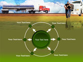 Truck Driving Job Free PowerPoint Template#7