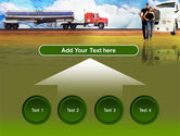 Truck Driving Job Free PowerPoint Template#8