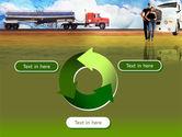 Truck Driving Job Free PowerPoint Template#9