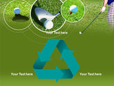 Golf Shot PowerPoint Template#10