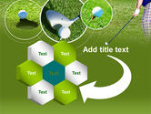 Golf Shot PowerPoint Template#11