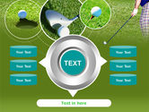Golf Shot PowerPoint Template#12
