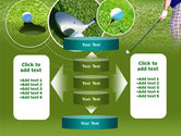 Golf Shot PowerPoint Template#13