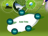 Golf Shot PowerPoint Template#14