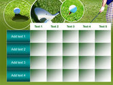 Golf Shot PowerPoint Template#15