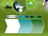 Golf Shot PowerPoint Template#16