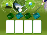 Golf Shot PowerPoint Template#18