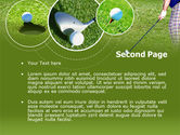 Golf Shot PowerPoint Template#2