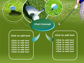 Golf Shot PowerPoint Template#4