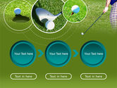 Golf Shot PowerPoint Template#5