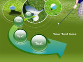 Golf Shot PowerPoint Template#6