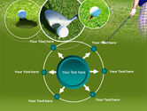 Golf Shot PowerPoint Template#7