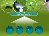 Golf Shot PowerPoint Template#8
