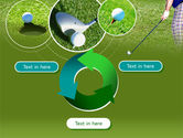 Golf Shot PowerPoint Template#9
