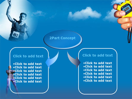 Running Timer PowerPoint Template Slide 4