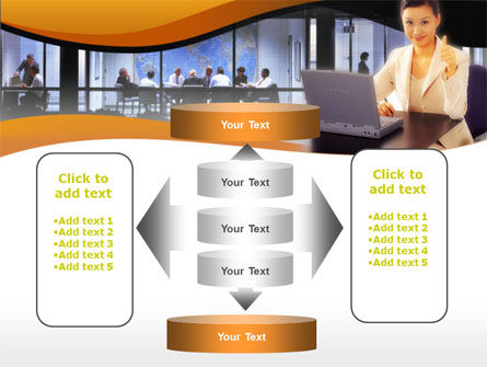 Business Assistant PowerPoint Template Slide 13