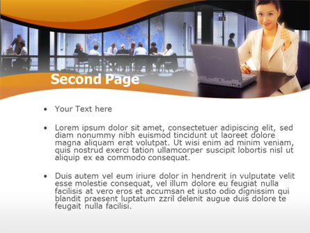 Business Assistant PowerPoint Template, Slide 2, 00160, Business — PoweredTemplate.com