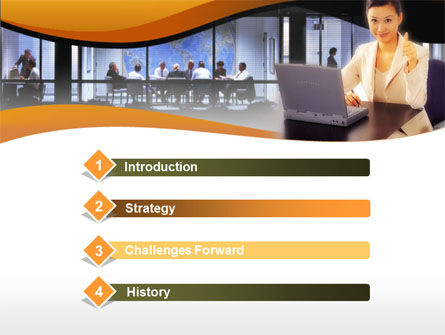 Business Assistant PowerPoint Template Slide 3