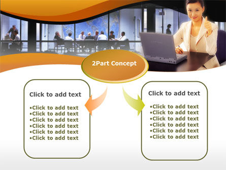Business Assistant PowerPoint Template Slide 4