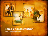 Business: Young Team In Business PowerPoint Template #00163