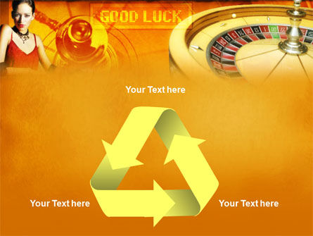Casino Player PowerPoint Template Slide 10