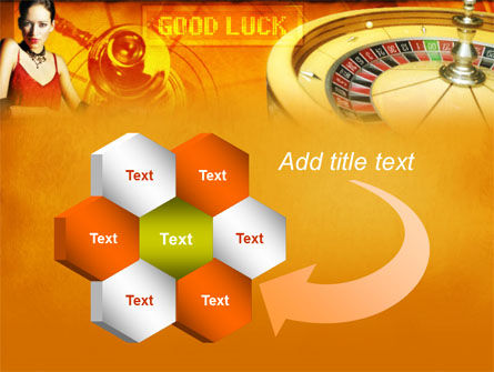 Casino Player PowerPoint Template Slide 11