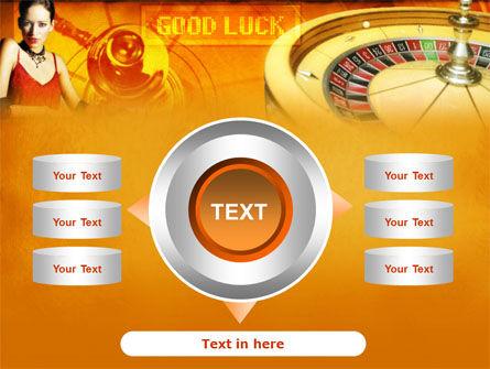 Casino Player PowerPoint Template Slide 12
