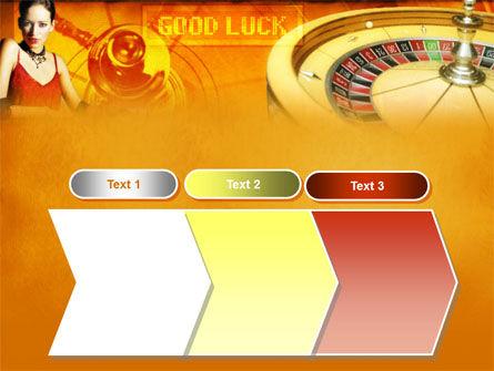 Casino Player PowerPoint Template Slide 16