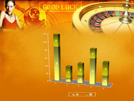Casino Player PowerPoint Template Slide 17