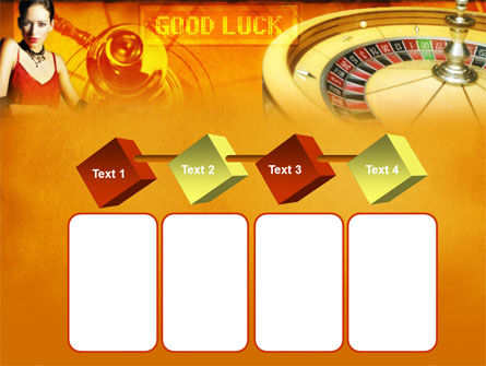 Casino Player PowerPoint Template Slide 18