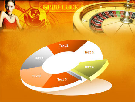 Casino Player PowerPoint Template Slide 19