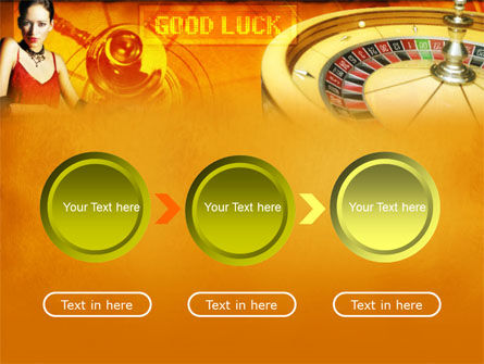 Casino Player PowerPoint Template Slide 5