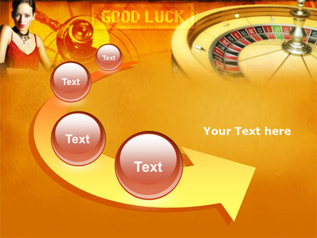 Casino Player PowerPoint Template Slide 6