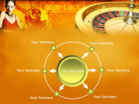Casino Player PowerPoint Template Slide 7