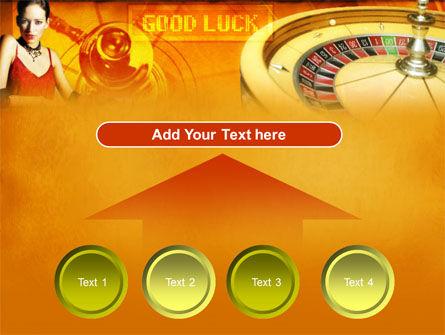 Casino Player PowerPoint Template Slide 8