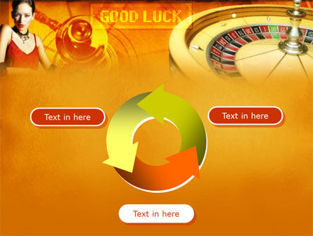Casino Player PowerPoint Template Slide 9